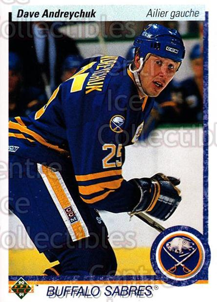 1990-91 Upper Deck French #41 Dave Andreychuk<br/>17 In Stock - $1.00 each - <a href=https://centericecollectibles.foxycart.com/cart?name=1990-91%20Upper%20Deck%20French%20%2341%20Dave%20Andreychuk...&quantity_max=17&price=$1.00&code=258612 class=foxycart> Buy it now! </a>