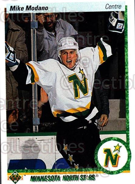 1990-91 Upper Deck French #46 Mike Modano<br/>2 In Stock - $3.00 each - <a href=https://centericecollectibles.foxycart.com/cart?name=1990-91%20Upper%20Deck%20French%20%2346%20Mike%20Modano...&quantity_max=2&price=$3.00&code=258617 class=foxycart> Buy it now! </a>