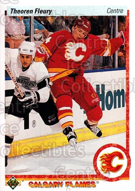 1990-91 Upper Deck French #47 Theo Fleury<br/>17 In Stock - $1.00 each - <a href=https://centericecollectibles.foxycart.com/cart?name=1990-91%20Upper%20Deck%20French%20%2347%20Theo%20Fleury...&quantity_max=17&price=$1.00&code=258618 class=foxycart> Buy it now! </a>