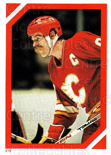 1985-86 O-Pee-Chee Stickers #215-0 Lanny McDonald<br/>2 In Stock - $2.00 each - <a href=https://centericecollectibles.foxycart.com/cart?name=1985-86%20O-Pee-Chee%20Stickers%20%23215-0%20Lanny%20McDonald...&quantity_max=2&price=$2.00&code=25861 class=foxycart> Buy it now! </a>