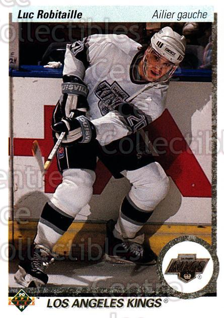 1990-91 Upper Deck French #73 Luc Robitaille<br/>17 In Stock - $1.00 each - <a href=https://centericecollectibles.foxycart.com/cart?name=1990-91%20Upper%20Deck%20French%20%2373%20Luc%20Robitaille...&quantity_max=17&price=$1.00&code=258644 class=foxycart> Buy it now! </a>
