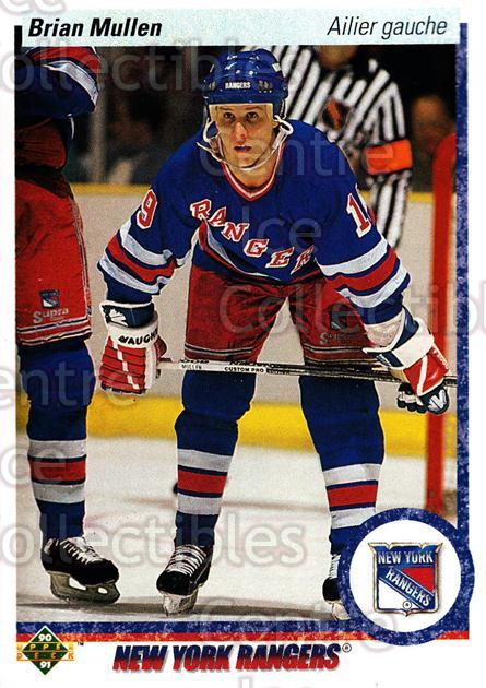 1990-91 Upper Deck French #182 Brian Mullen<br/>17 In Stock - $1.00 each - <a href=https://centericecollectibles.foxycart.com/cart?name=1990-91%20Upper%20Deck%20French%20%23182%20Brian%20Mullen...&quantity_max=17&price=$1.00&code=258753 class=foxycart> Buy it now! </a>