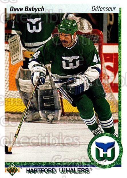 1990-91 Upper Deck French #194 Dave Babych<br/>17 In Stock - $1.00 each - <a href=https://centericecollectibles.foxycart.com/cart?name=1990-91%20Upper%20Deck%20French%20%23194%20Dave%20Babych...&quantity_max=17&price=$1.00&code=258765 class=foxycart> Buy it now! </a>