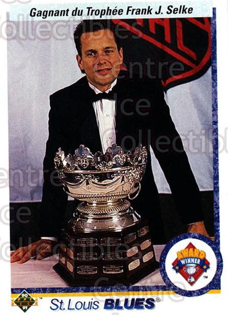 1990-91 Upper Deck French #208 Rick Meagher, Selke Trophy<br/>16 In Stock - $1.00 each - <a href=https://centericecollectibles.foxycart.com/cart?name=1990-91%20Upper%20Deck%20French%20%23208%20Rick%20Meagher,%20S...&quantity_max=16&price=$1.00&code=258779 class=foxycart> Buy it now! </a>