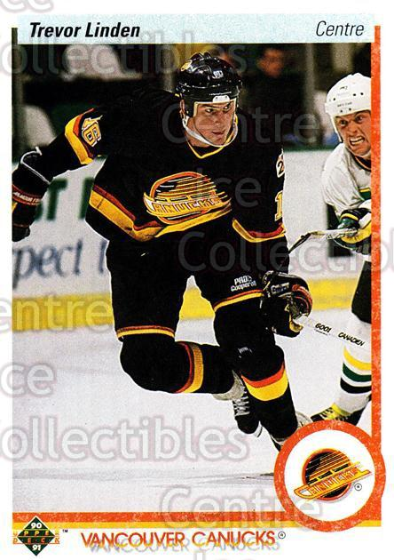 1990-91 Upper Deck French #256 Trevor Linden<br/>13 In Stock - $1.00 each - <a href=https://centericecollectibles.foxycart.com/cart?name=1990-91%20Upper%20Deck%20French%20%23256%20Trevor%20Linden...&quantity_max=13&price=$1.00&code=258827 class=foxycart> Buy it now! </a>