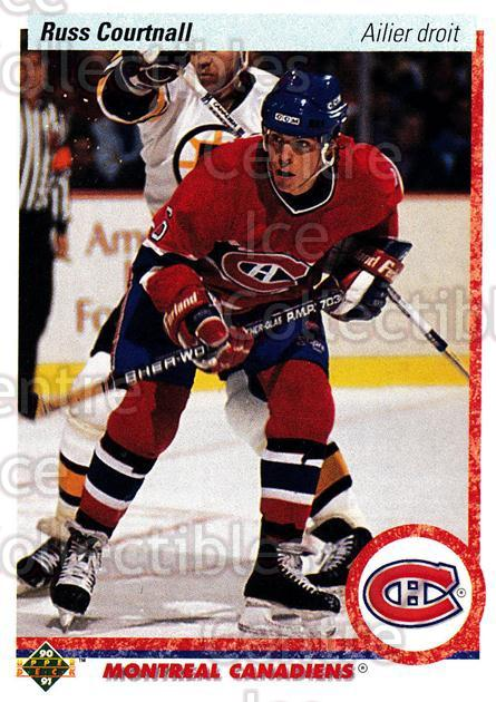 1990-91 Upper Deck French #259 Russ Courtnall<br/>17 In Stock - $1.00 each - <a href=https://centericecollectibles.foxycart.com/cart?name=1990-91%20Upper%20Deck%20French%20%23259%20Russ%20Courtnall...&quantity_max=17&price=$1.00&code=258830 class=foxycart> Buy it now! </a>