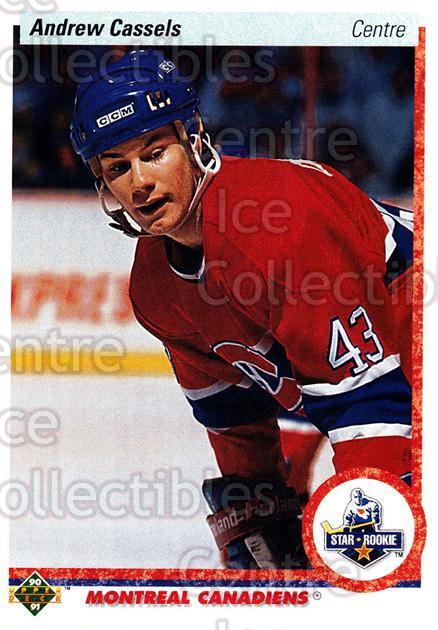 1990-91 Upper Deck French #265 Andrew Cassels<br/>17 In Stock - $1.00 each - <a href=https://centericecollectibles.foxycart.com/cart?name=1990-91%20Upper%20Deck%20French%20%23265%20Andrew%20Cassels...&quantity_max=17&price=$1.00&code=258836 class=foxycart> Buy it now! </a>