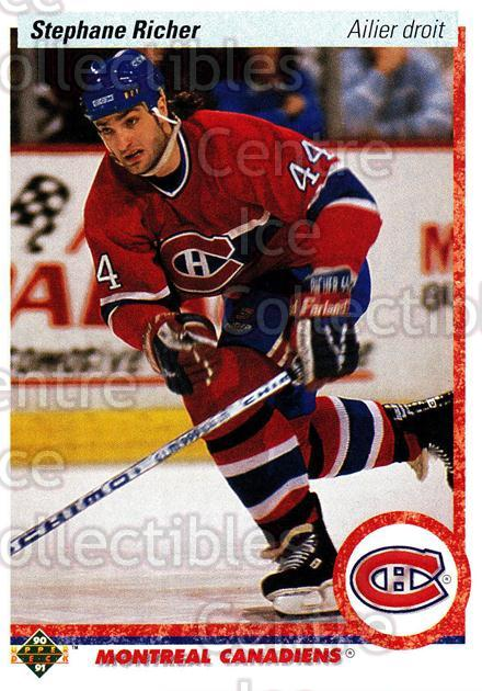 1990-91 Upper Deck French #276 Stephane Richer<br/>16 In Stock - $1.00 each - <a href=https://centericecollectibles.foxycart.com/cart?name=1990-91%20Upper%20Deck%20French%20%23276%20Stephane%20Richer...&quantity_max=16&price=$1.00&code=258847 class=foxycart> Buy it now! </a>