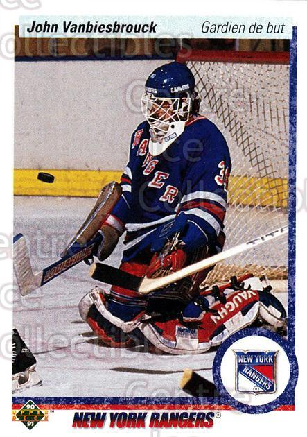 1990-91 Upper Deck French #279 John Vanbiesbrouck<br/>17 In Stock - $1.00 each - <a href=https://centericecollectibles.foxycart.com/cart?name=1990-91%20Upper%20Deck%20French%20%23279%20John%20Vanbiesbro...&quantity_max=17&price=$1.00&code=258850 class=foxycart> Buy it now! </a>