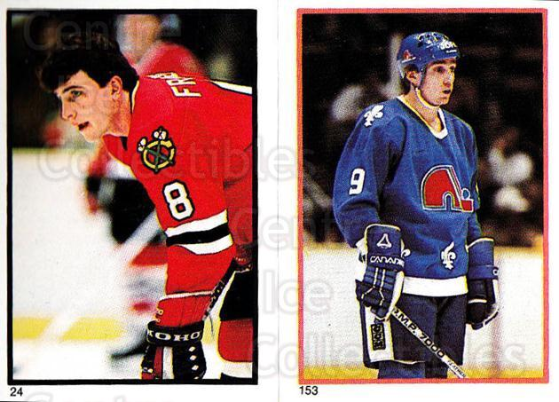 1985-86 O-Pee-Chee Stickers #024-153 Curt Fraser, Brent Ashton<br/>6 In Stock - $2.00 each - <a href=https://centericecollectibles.foxycart.com/cart?name=1985-86%20O-Pee-Chee%20Stickers%20%23024-153%20Curt%20Fraser,%20Br...&quantity_max=6&price=$2.00&code=25886 class=foxycart> Buy it now! </a>