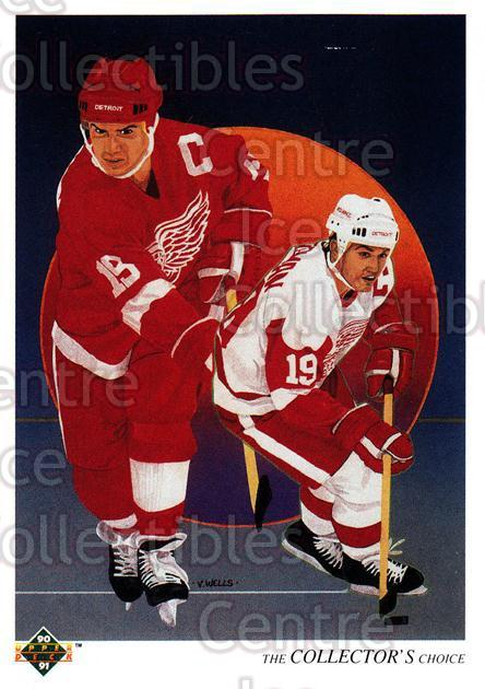 1990-91 Upper Deck French #303 Steve Yzerman, Checklist<br/>15 In Stock - $1.00 each - <a href=https://centericecollectibles.foxycart.com/cart?name=1990-91%20Upper%20Deck%20French%20%23303%20Steve%20Yzerman,%20...&price=$1.00&code=258874 class=foxycart> Buy it now! </a>