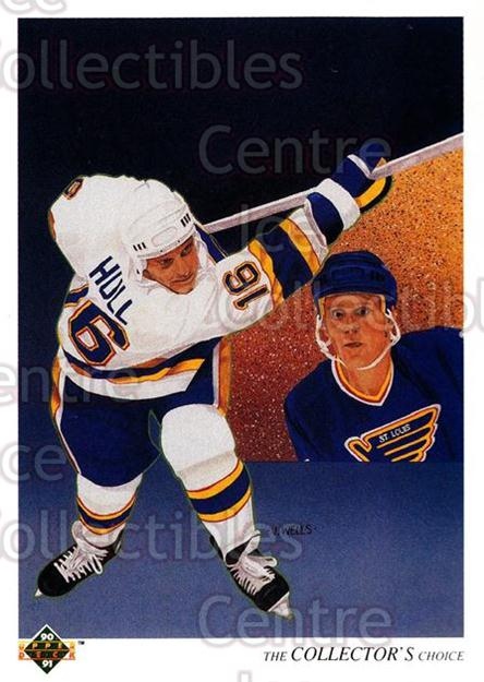 1990-91 Upper Deck French #312 Brett Hull, Checklist<br/>17 In Stock - $1.00 each - <a href=https://centericecollectibles.foxycart.com/cart?name=1990-91%20Upper%20Deck%20French%20%23312%20Brett%20Hull,%20Che...&price=$1.00&code=258883 class=foxycart> Buy it now! </a>