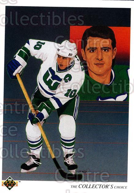 1990-91 Upper Deck French #314 Ron Francis, Checklist<br/>15 In Stock - $1.00 each - <a href=https://centericecollectibles.foxycart.com/cart?name=1990-91%20Upper%20Deck%20French%20%23314%20Ron%20Francis,%20Ch...&quantity_max=15&price=$1.00&code=258885 class=foxycart> Buy it now! </a>