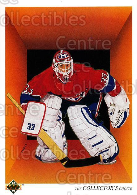 1990-91 Upper Deck French #317 Patrick Roy, Checklist<br/>11 In Stock - $2.00 each - <a href=https://centericecollectibles.foxycart.com/cart?name=1990-91%20Upper%20Deck%20French%20%23317%20Patrick%20Roy,%20Ch...&quantity_max=11&price=$2.00&code=258888 class=foxycart> Buy it now! </a>