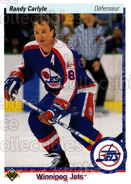 1990-91 Upper Deck French #331 Randy Carlyle<br/>16 In Stock - $1.00 each - <a href=https://centericecollectibles.foxycart.com/cart?name=1990-91%20Upper%20Deck%20French%20%23331%20Randy%20Carlyle...&quantity_max=16&price=$1.00&code=258902 class=foxycart> Buy it now! </a>