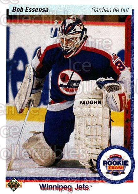 1990-91 Upper Deck French #337 Bob Essensa<br/>16 In Stock - $1.00 each - <a href=https://centericecollectibles.foxycart.com/cart?name=1990-91%20Upper%20Deck%20French%20%23337%20Bob%20Essensa...&quantity_max=16&price=$1.00&code=258908 class=foxycart> Buy it now! </a>