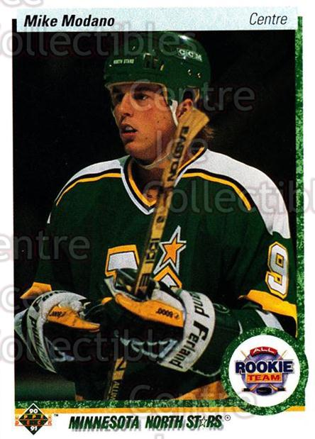 1990-91 Upper Deck French #346 Mike Modano<br/>16 In Stock - $1.00 each - <a href=https://centericecollectibles.foxycart.com/cart?name=1990-91%20Upper%20Deck%20French%20%23346%20Mike%20Modano...&quantity_max=16&price=$1.00&code=258917 class=foxycart> Buy it now! </a>