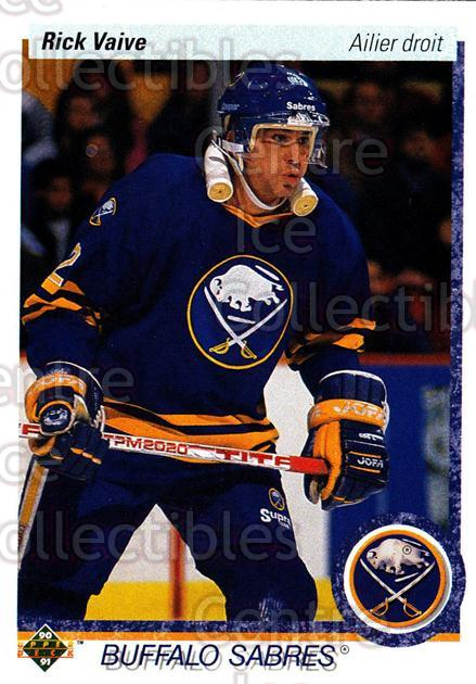 1990-91 Upper Deck French #376 Rick Vaive<br/>17 In Stock - $1.00 each - <a href=https://centericecollectibles.foxycart.com/cart?name=1990-91%20Upper%20Deck%20French%20%23376%20Rick%20Vaive...&quantity_max=17&price=$1.00&code=258947 class=foxycart> Buy it now! </a>