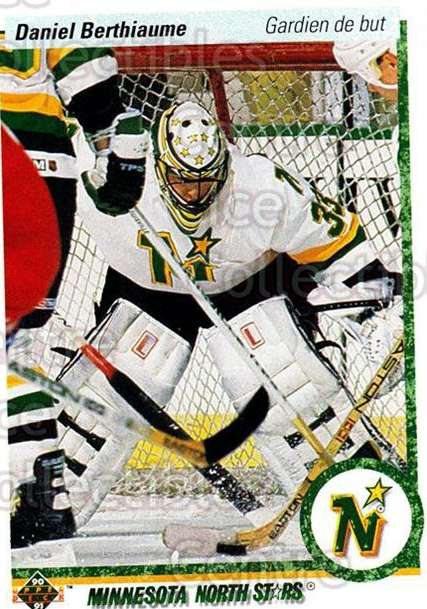 1990-91 Upper Deck French #381 Daniel Berthiaume<br/>17 In Stock - $1.00 each - <a href=https://centericecollectibles.foxycart.com/cart?name=1990-91%20Upper%20Deck%20French%20%23381%20Daniel%20Berthiau...&quantity_max=17&price=$1.00&code=258952 class=foxycart> Buy it now! </a>