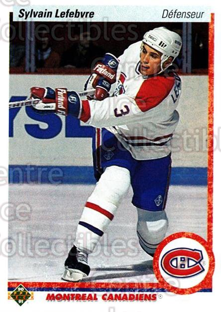 1990-91 Upper Deck French #421 Sylvain Lefebvre<br/>14 In Stock - $1.00 each - <a href=https://centericecollectibles.foxycart.com/cart?name=1990-91%20Upper%20Deck%20French%20%23421%20Sylvain%20Lefebvr...&quantity_max=14&price=$1.00&code=258992 class=foxycart> Buy it now! </a>