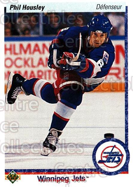 1990-91 Upper Deck French #435 Phil Housley<br/>16 In Stock - $1.00 each - <a href=https://centericecollectibles.foxycart.com/cart?name=1990-91%20Upper%20Deck%20French%20%23435%20Phil%20Housley...&quantity_max=16&price=$1.00&code=259006 class=foxycart> Buy it now! </a>