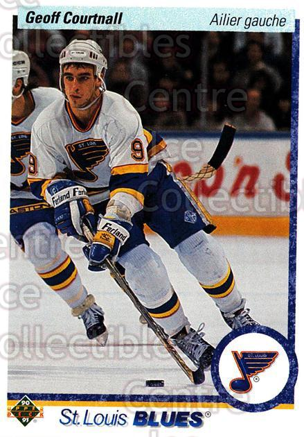 1990-91 Upper Deck French #438 Geoff Courtnall<br/>16 In Stock - $1.00 each - <a href=https://centericecollectibles.foxycart.com/cart?name=1990-91%20Upper%20Deck%20French%20%23438%20Geoff%20Courtnall...&quantity_max=16&price=$1.00&code=259009 class=foxycart> Buy it now! </a>