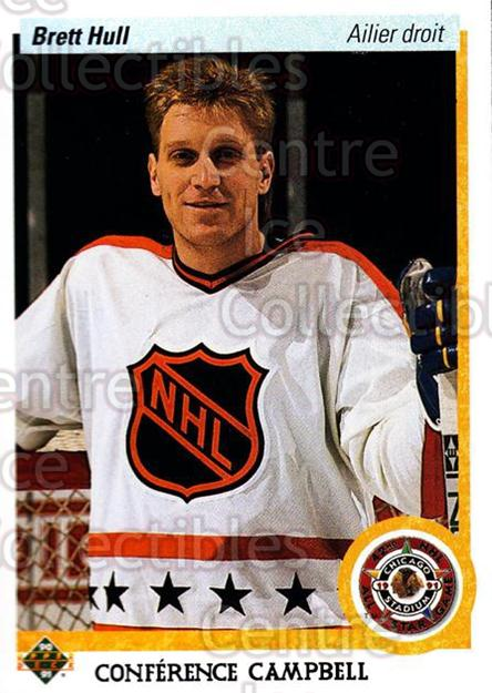 1990-91 Upper Deck French #474 Brett Hull<br/>16 In Stock - $1.00 each - <a href=https://centericecollectibles.foxycart.com/cart?name=1990-91%20Upper%20Deck%20French%20%23474%20Brett%20Hull...&price=$1.00&code=259045 class=foxycart> Buy it now! </a>
