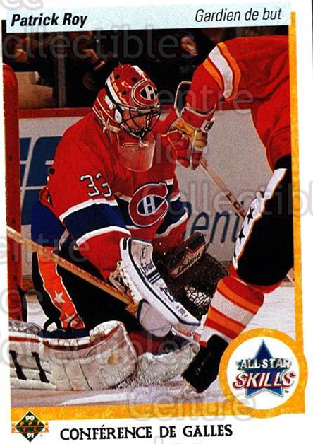 1990-91 Upper Deck French #496 Patrick Roy<br/>10 In Stock - $2.00 each - <a href=https://centericecollectibles.foxycart.com/cart?name=1990-91%20Upper%20Deck%20French%20%23496%20Patrick%20Roy...&quantity_max=10&price=$2.00&code=259067 class=foxycart> Buy it now! </a>