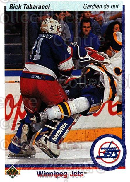 1990-91 Upper Deck French #520 Rick Tabaracci<br/>16 In Stock - $1.00 each - <a href=https://centericecollectibles.foxycart.com/cart?name=1990-91%20Upper%20Deck%20French%20%23520%20Rick%20Tabaracci...&price=$1.00&code=259091 class=foxycart> Buy it now! </a>