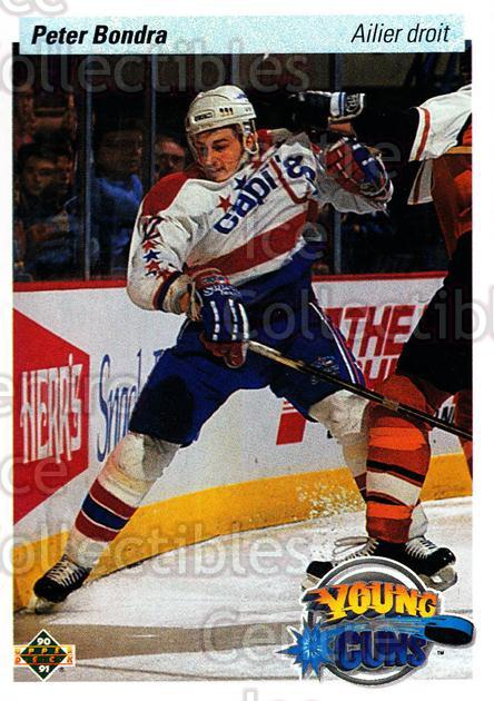 1990-91 Upper Deck French #536 Peter Bondra<br/>11 In Stock - $2.00 each - <a href=https://centericecollectibles.foxycart.com/cart?name=1990-91%20Upper%20Deck%20French%20%23536%20Peter%20Bondra...&quantity_max=11&price=$2.00&code=259107 class=foxycart> Buy it now! </a>