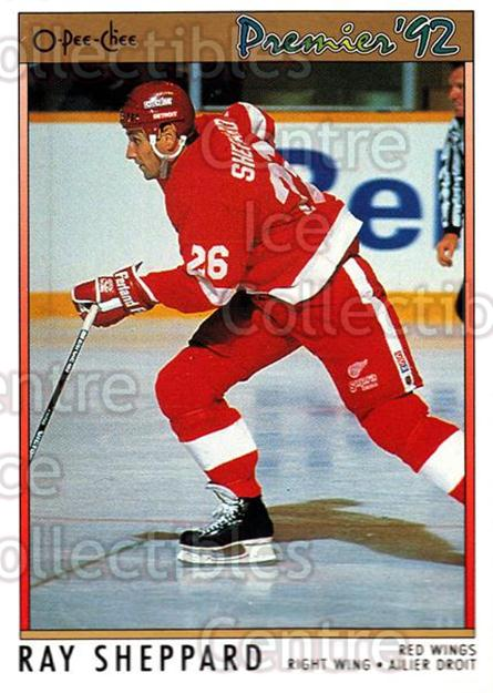 1991-92 OPC Premier #2 Ray Sheppard<br/>8 In Stock - $1.00 each - <a href=https://centericecollectibles.foxycart.com/cart?name=1991-92%20OPC%20Premier%20%232%20Ray%20Sheppard...&quantity_max=8&price=$1.00&code=259123 class=foxycart> Buy it now! </a>