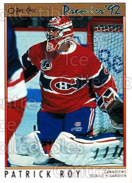 1991-92 OPC Premier #14 Patrick Roy<br/>15 In Stock - $2.00 each - <a href=https://centericecollectibles.foxycart.com/cart?name=1991-92%20OPC%20Premier%20%2314%20Patrick%20Roy...&quantity_max=15&price=$2.00&code=259135 class=foxycart> Buy it now! </a>
