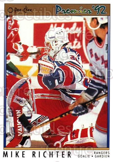 1991-92 OPC Premier #78 Mike Richter<br/>6 In Stock - $1.00 each - <a href=https://centericecollectibles.foxycart.com/cart?name=1991-92%20OPC%20Premier%20%2378%20Mike%20Richter...&quantity_max=6&price=$1.00&code=259199 class=foxycart> Buy it now! </a>