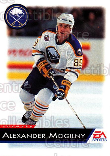 1994 EA Sports #17 Alexander Mogilny<br/>4 In Stock - $1.00 each - <a href=https://centericecollectibles.foxycart.com/cart?name=1994%20EA%20Sports%20%2317%20Alexander%20Mogil...&quantity_max=4&price=$1.00&code=2591 class=foxycart> Buy it now! </a>