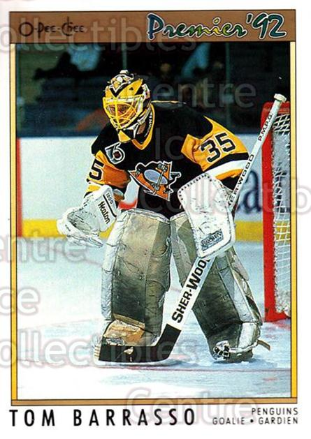 1991-92 OPC Premier #103 Tom Barrasso<br/>6 In Stock - $1.00 each - <a href=https://centericecollectibles.foxycart.com/cart?name=1991-92%20OPC%20Premier%20%23103%20Tom%20Barrasso...&price=$1.00&code=259224 class=foxycart> Buy it now! </a>