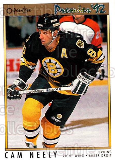 1991-92 OPC Premier #107 Cam Neely<br/>5 In Stock - $1.00 each - <a href=https://centericecollectibles.foxycart.com/cart?name=1991-92%20OPC%20Premier%20%23107%20Cam%20Neely...&quantity_max=5&price=$1.00&code=259228 class=foxycart> Buy it now! </a>