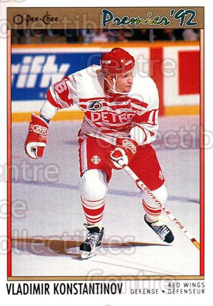 1991-92 OPC Premier #118 Vladimir Konstantinov<br/>11 In Stock - $2.00 each - <a href=https://centericecollectibles.foxycart.com/cart?name=1991-92%20OPC%20Premier%20%23118%20Vladimir%20Konsta...&price=$2.00&code=259239 class=foxycart> Buy it now! </a>