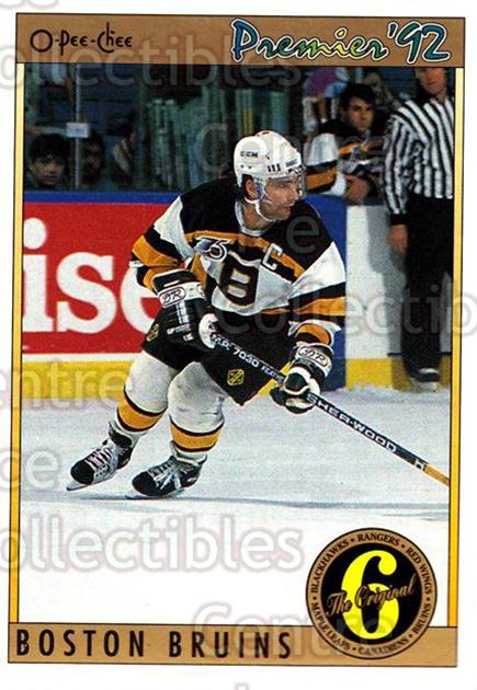1991-92 OPC Premier #192 Ray Bourque<br/>7 In Stock - $1.00 each - <a href=https://centericecollectibles.foxycart.com/cart?name=1991-92%20OPC%20Premier%20%23192%20Ray%20Bourque...&quantity_max=7&price=$1.00&code=259313 class=foxycart> Buy it now! </a>