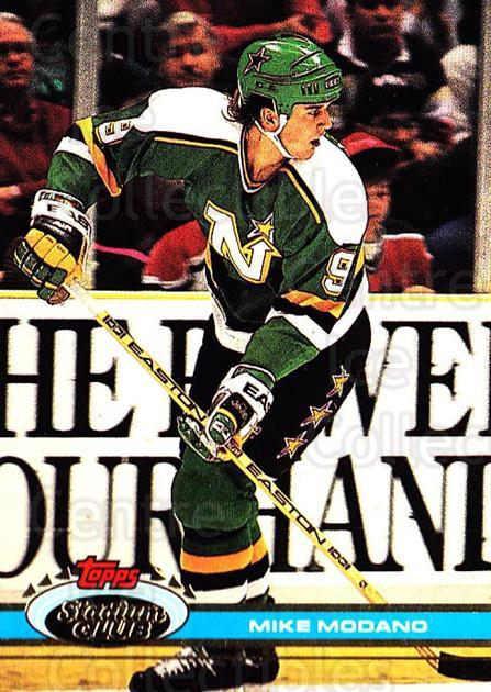 1991-92 Stadium Club #187 Mike Modano<br/>5 In Stock - $1.00 each - <a href=https://centericecollectibles.foxycart.com/cart?name=1991-92%20Stadium%20Club%20%23187%20Mike%20Modano...&quantity_max=5&price=$1.00&code=259506 class=foxycart> Buy it now! </a>