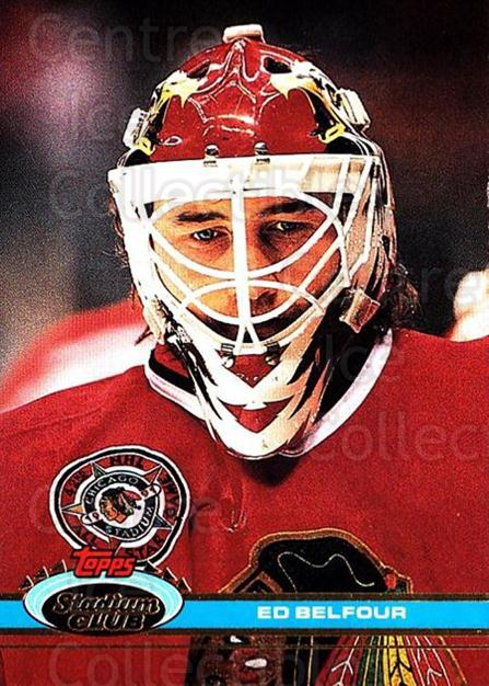 1991-92 Stadium Club #333 Ed Belfour<br/>6 In Stock - $1.00 each - <a href=https://centericecollectibles.foxycart.com/cart?name=1991-92%20Stadium%20Club%20%23333%20Ed%20Belfour...&price=$1.00&code=259652 class=foxycart> Buy it now! </a>