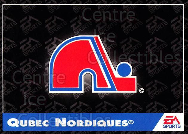 1994 EA Sports #177 Quebec Nordiques<br/>5 In Stock - $1.00 each - <a href=https://centericecollectibles.foxycart.com/cart?name=1994%20EA%20Sports%20%23177%20Quebec%20Nordique...&quantity_max=5&price=$1.00&code=2599 class=foxycart> Buy it now! </a>