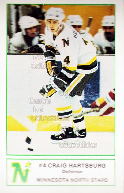 1984-85 Minnesota North Stars 7-Eleven 7-11 #3 Craig Hartsburg<br/>4 In Stock - $3.00 each - <a href=https://centericecollectibles.foxycart.com/cart?name=1984-85%20Minnesota%20North%20Stars%207-Eleven%207-11%20%233%20Craig%20Hartsburg...&quantity_max=4&price=$3.00&code=26052 class=foxycart> Buy it now! </a>