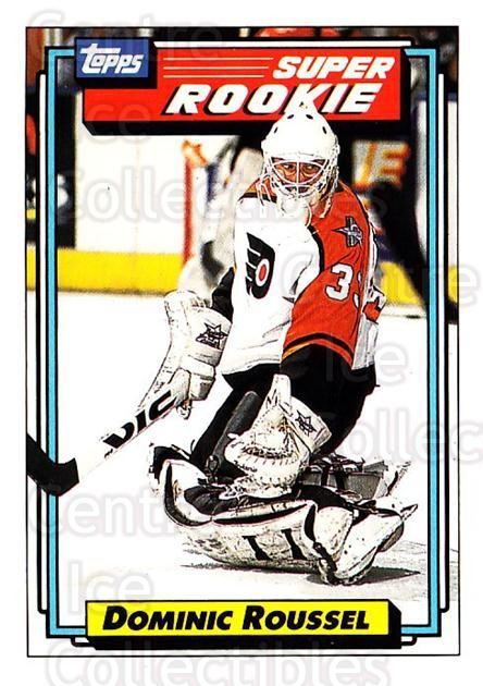 1992-93 Topps #10 Dominic Roussel<br/>4 In Stock - $1.00 each - <a href=https://centericecollectibles.foxycart.com/cart?name=1992-93%20Topps%20%2310%20Dominic%20Roussel...&price=$1.00&code=260599 class=foxycart> Buy it now! </a>