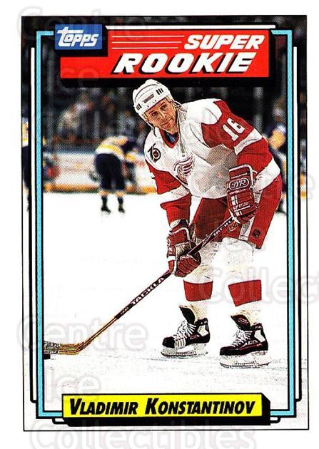1992-93 Topps #14 Vladimir Konstantinov<br/>3 In Stock - $1.00 each - <a href=https://centericecollectibles.foxycart.com/cart?name=1992-93%20Topps%20%2314%20Vladimir%20Konsta...&price=$1.00&code=260603 class=foxycart> Buy it now! </a>