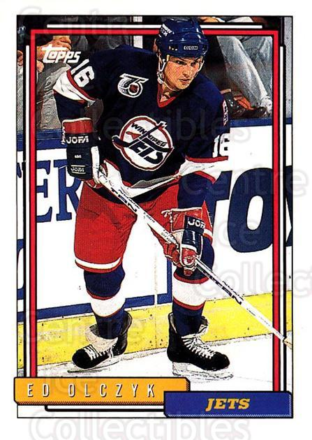 1992-93 Topps #17 Ed Olczyk<br/>5 In Stock - $1.00 each - <a href=https://centericecollectibles.foxycart.com/cart?name=1992-93%20Topps%20%2317%20Ed%20Olczyk...&price=$1.00&code=260606 class=foxycart> Buy it now! </a>