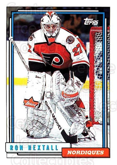 1992-93 Topps #40 Ron Hextall<br/>4 In Stock - $1.00 each - <a href=https://centericecollectibles.foxycart.com/cart?name=1992-93%20Topps%20%2340%20Ron%20Hextall...&price=$1.00&code=260629 class=foxycart> Buy it now! </a>