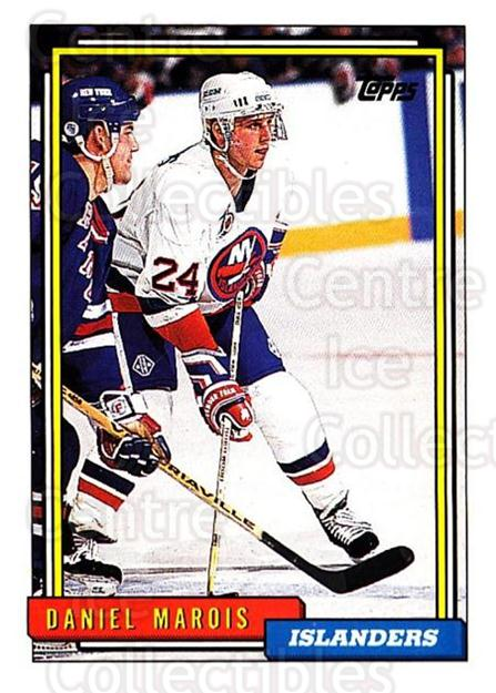 1992-93 Topps #49 Daniel Marois<br/>2 In Stock - $1.00 each - <a href=https://centericecollectibles.foxycart.com/cart?name=1992-93%20Topps%20%2349%20Daniel%20Marois...&price=$1.00&code=260638 class=foxycart> Buy it now! </a>