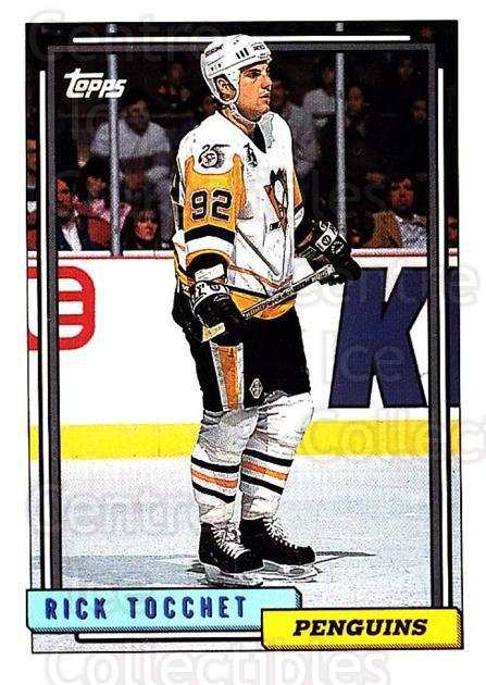 1992-93 Topps #70 Rick Tocchet<br/>5 In Stock - $1.00 each - <a href=https://centericecollectibles.foxycart.com/cart?name=1992-93%20Topps%20%2370%20Rick%20Tocchet...&price=$1.00&code=260659 class=foxycart> Buy it now! </a>