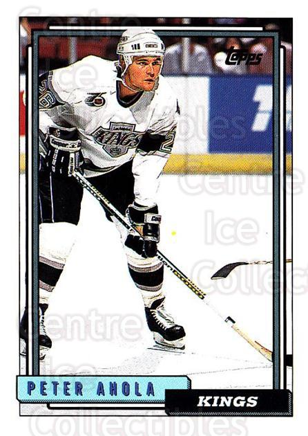 1992-93 Topps #73 Peter Ahola<br/>4 In Stock - $1.00 each - <a href=https://centericecollectibles.foxycart.com/cart?name=1992-93%20Topps%20%2373%20Peter%20Ahola...&price=$1.00&code=260662 class=foxycart> Buy it now! </a>