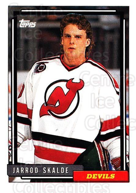 1992-93 Topps #84 Jarrod Skalde<br/>2 In Stock - $1.00 each - <a href=https://centericecollectibles.foxycart.com/cart?name=1992-93%20Topps%20%2384%20Jarrod%20Skalde...&price=$1.00&code=260673 class=foxycart> Buy it now! </a>